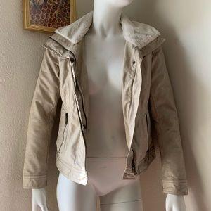Faux Leather Jacket Bernardo